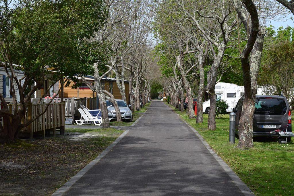 Camping Domaine De La Rive Campsite Layout