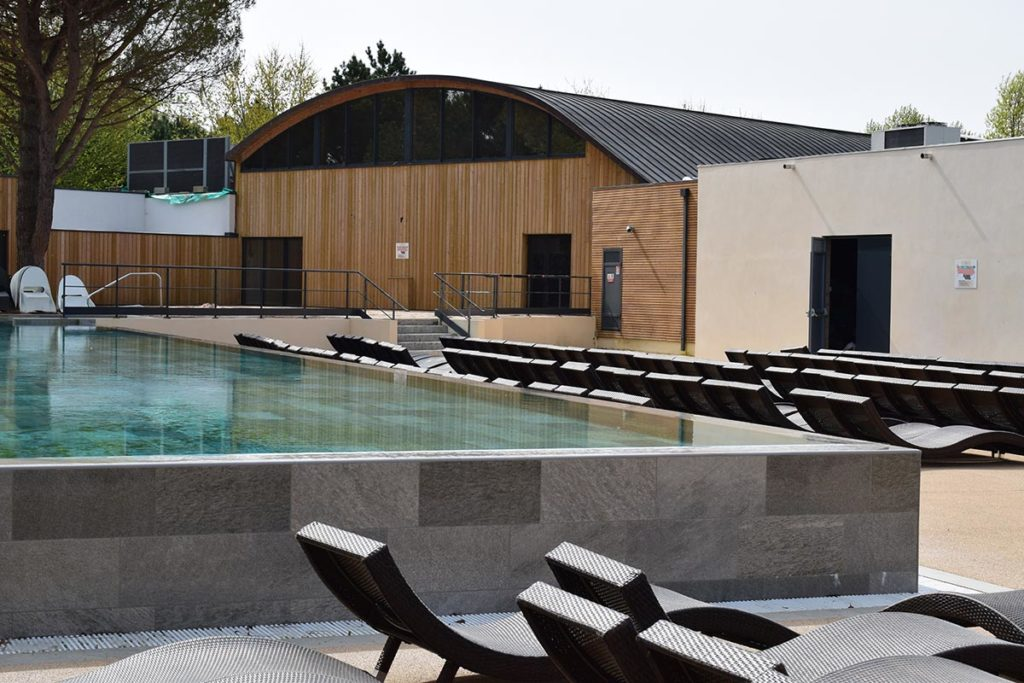 Camping Domaine De La Rive Lane Swimming Pool For Adults
