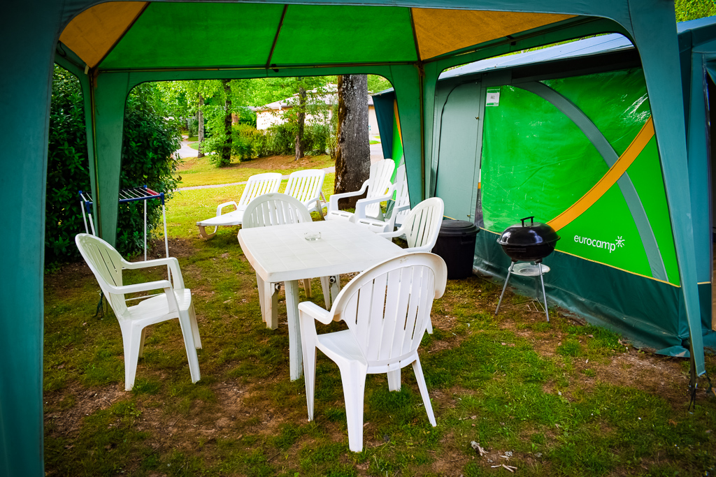 eurocamp classic tent outdoor white furniture