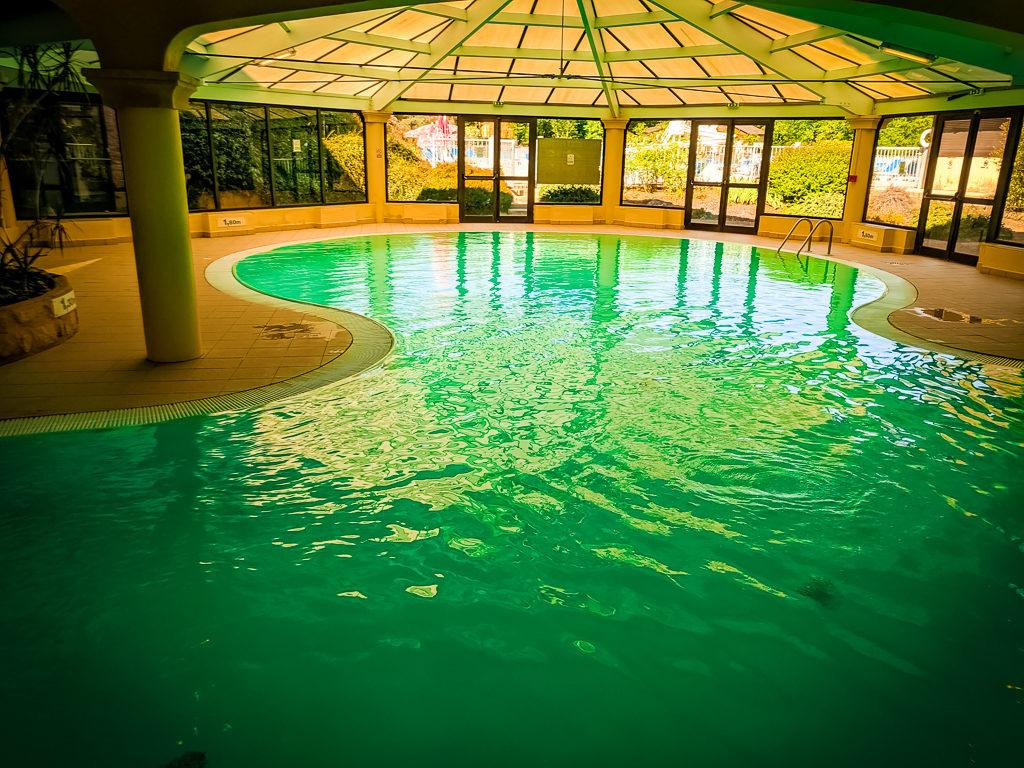 indoor pool at saint avit loisirs