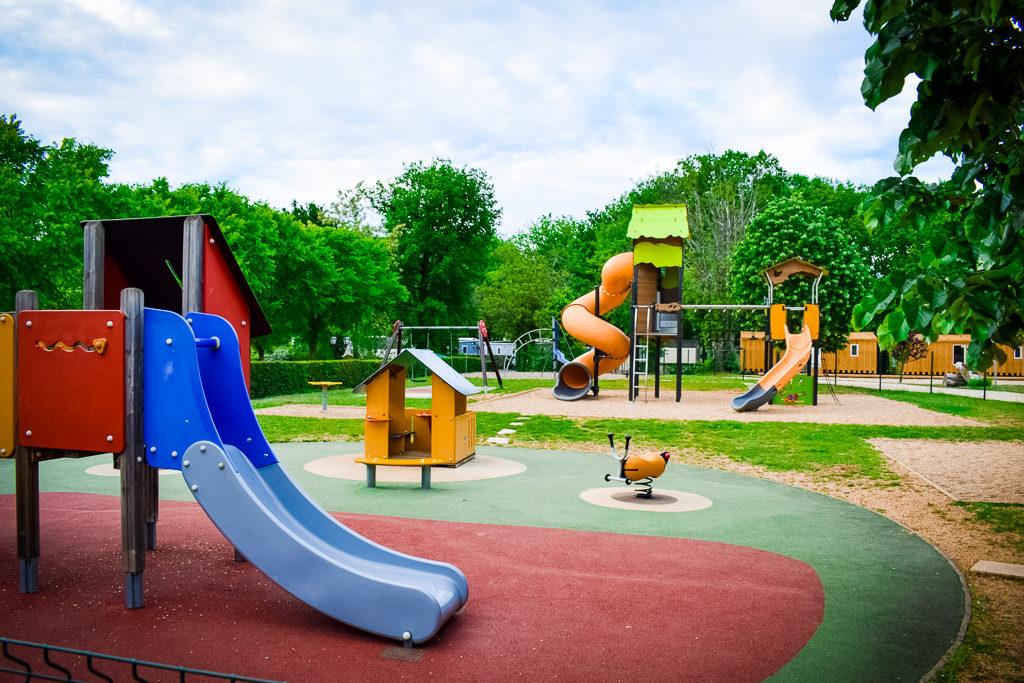 kids playpark at saint avit loisirs
