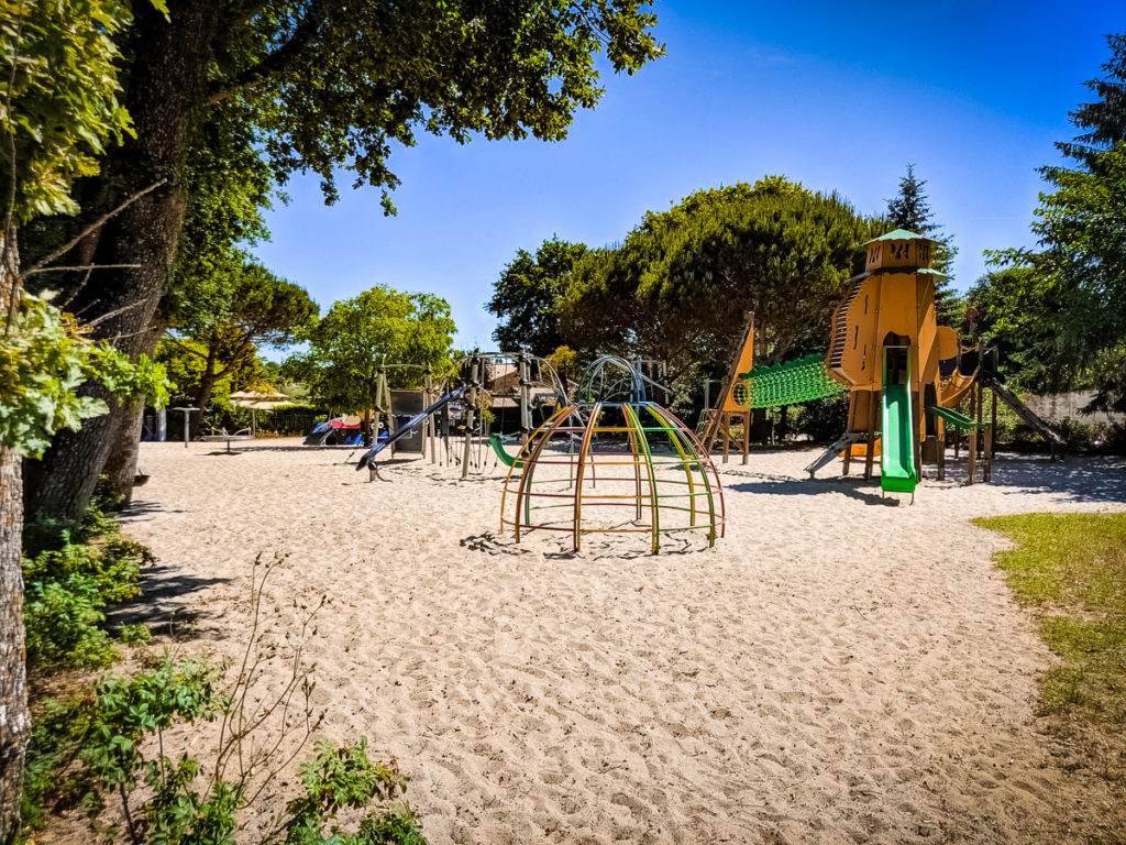 One of the childrens play parks at Sequoia Parc