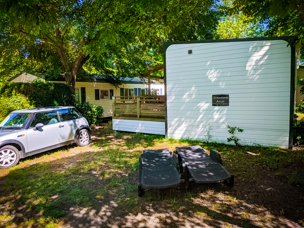 Our avant or Azure plus mobile home at sequoia parc campsite with Eurocamp