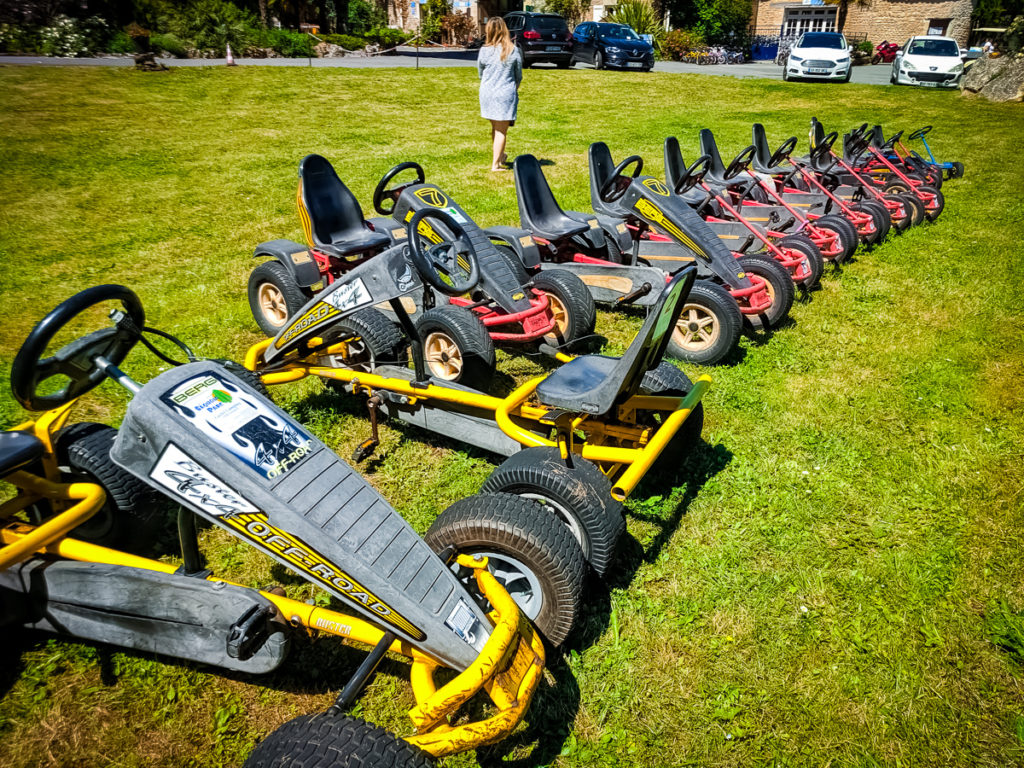 You can hire go karts at sequoia park campsite