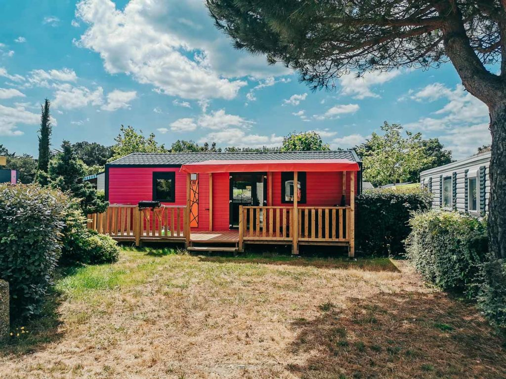 other accommodation and mobile home types at Camping de l'ocean Brem Sur Mer