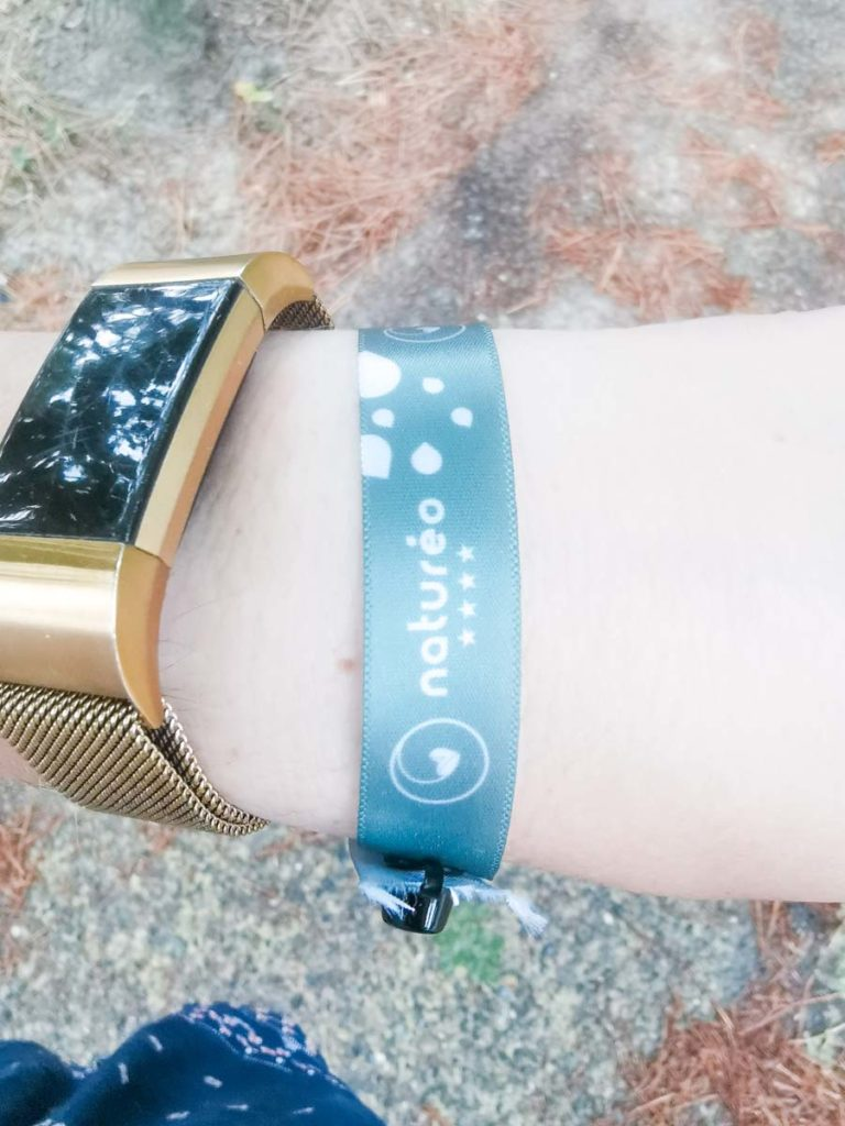 Wristband at Camping natureo in Hossegor-11