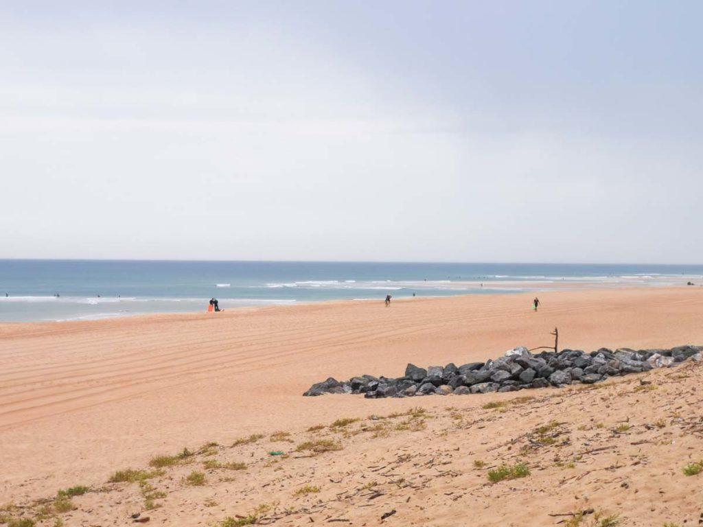 The beach near Camping natureo in Hossegor-13