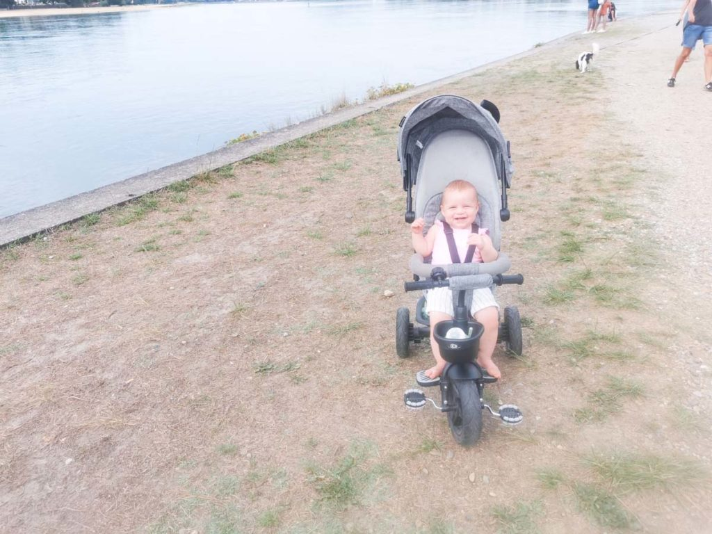 Baby at the lake near Camping natureo in Hossegor-16