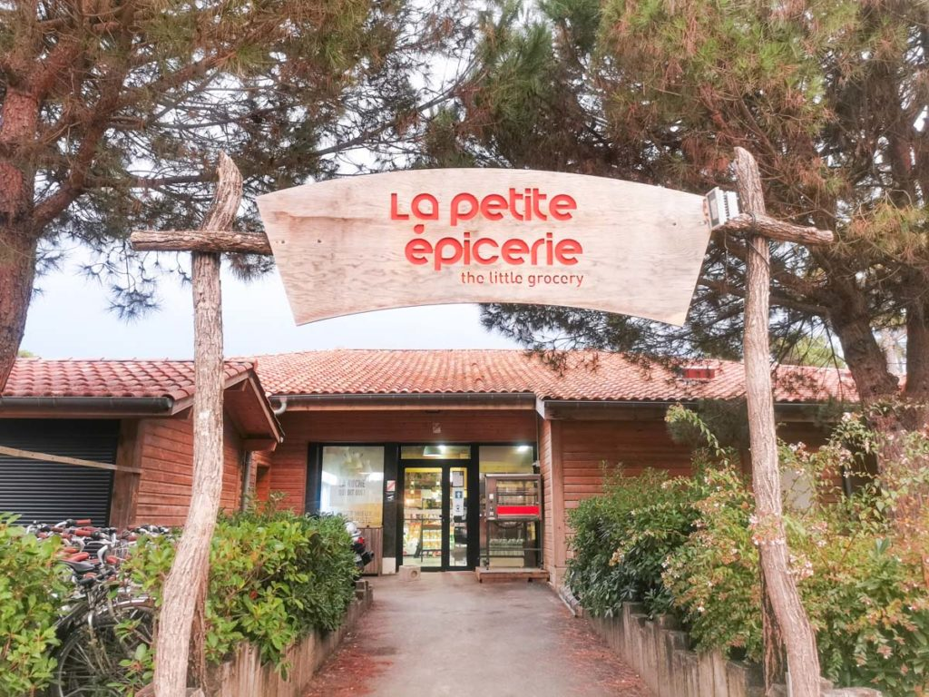 Epicerie at Camping natureo in Hossegor-18