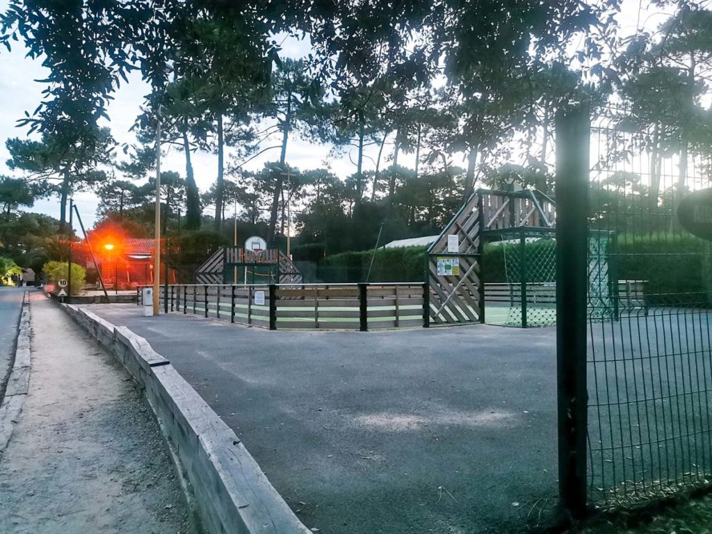 Multi sports area at Camping natureo in Hossegor-20