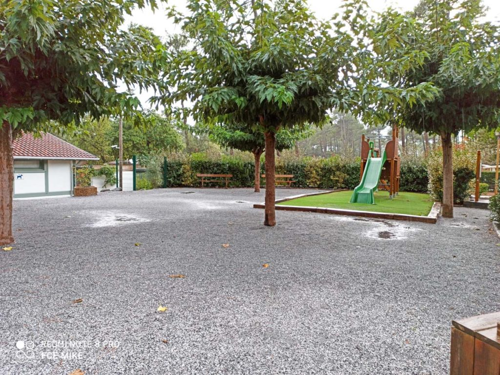 Play slide at Camping natureo in Hossegor-31