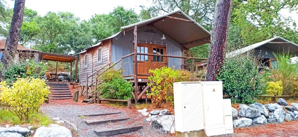 Accommodations at Camping natureo in Hossegor-38