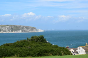 view of swanage for camping in swanage post