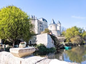 Chateau Vertuil in Charente France