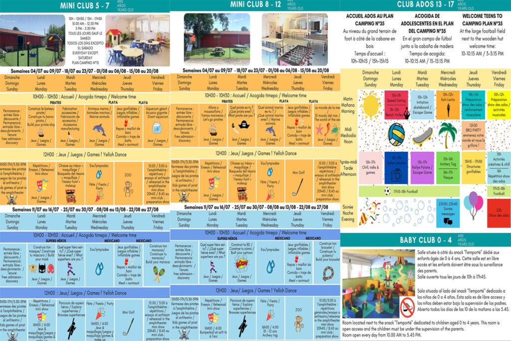 animation-schedule-at-yelloh-village-camping-sylvamar