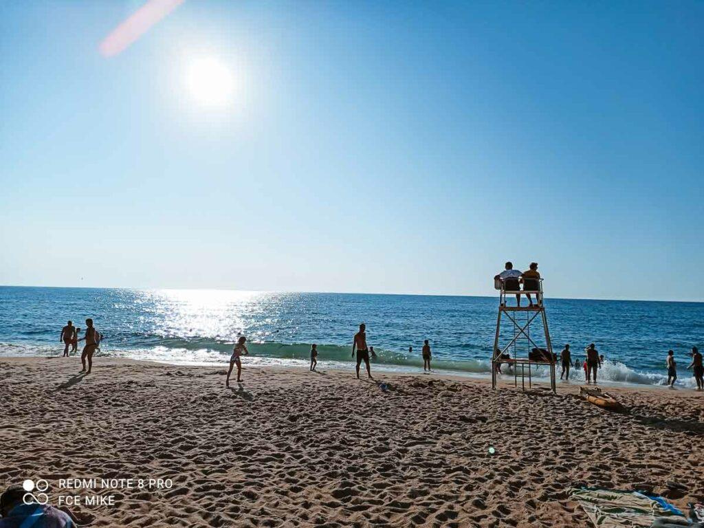 sea view at labenne beach