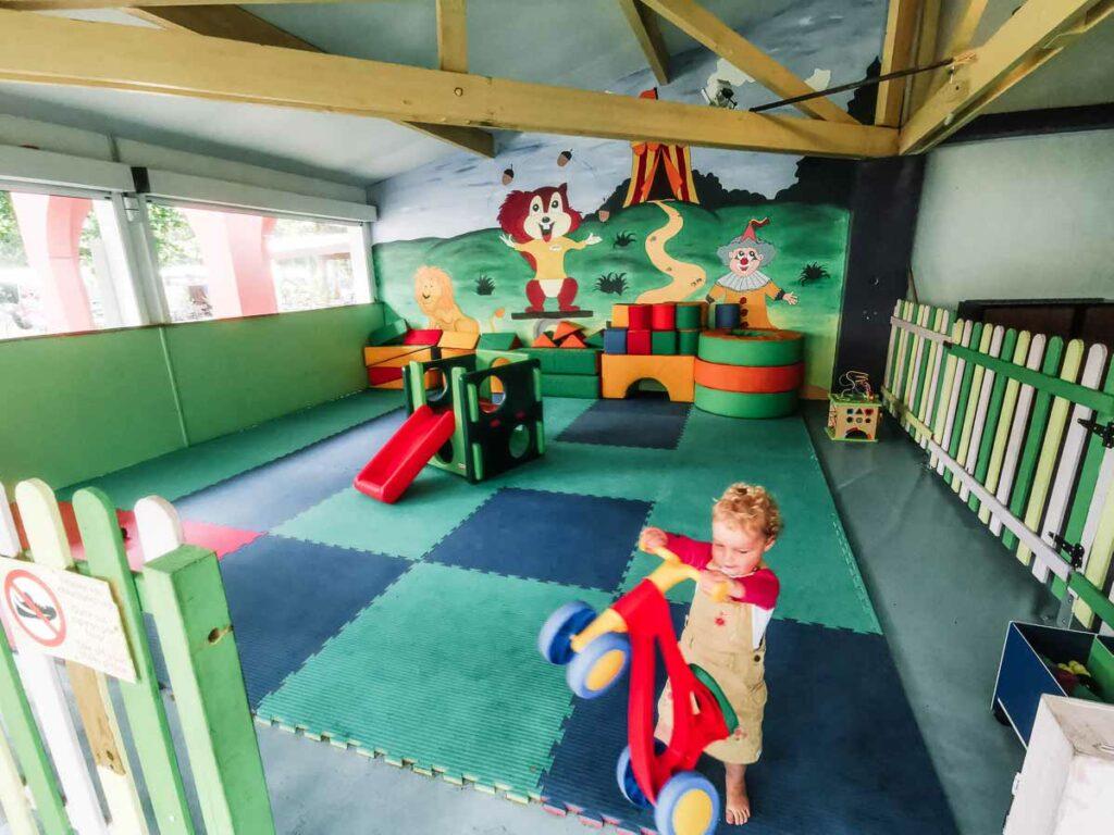 Soft play area at camping yelloh village sylvamar