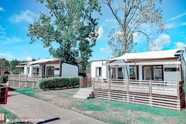 Azure Plus 2 bedroom from Eurocamp at Camping des menhirs-11